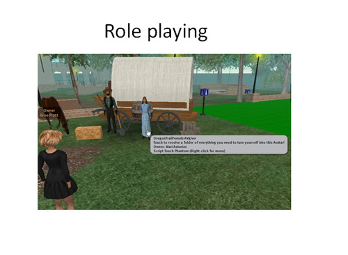 Figure 6: Role playing