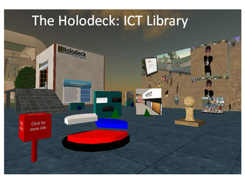 Figure 12: The Holodeck ICT Library