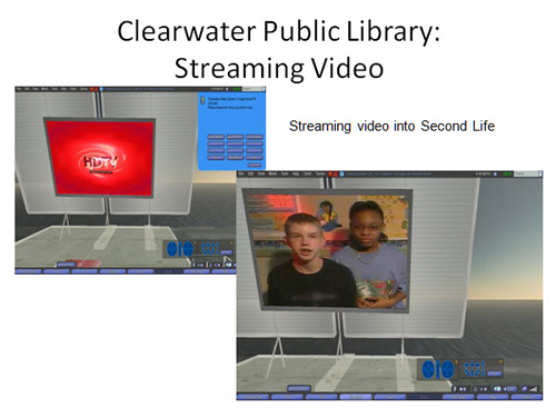 Figure 14: Clearwater Public Library streaming video