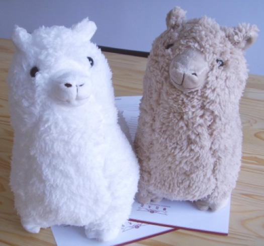 Figure 1: Grass Mud Horse plush toy