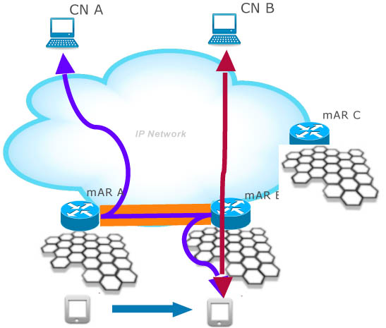 Directions for future cellular mobile network architecture