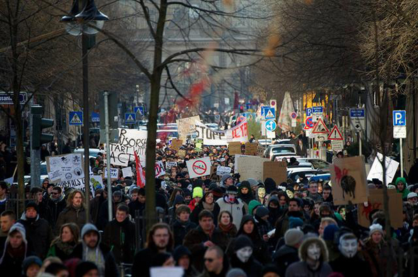 Anti-ACTA protests in Germany