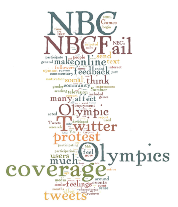 graphic representation of the survey responses from #NBCFail participants