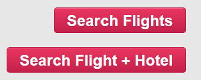 Screenshot of the Search Flights button below the flight search from