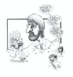 Caricature of Joe Dieter