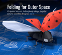 Ladybugs & Satellite Design: Folding for Outer Space